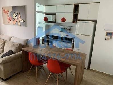 Apartamento Com 2 Dormitórios À Venda, 51 M² Por R$ 299.000,00 - Vila São João - Barueri/sp - Ap3376