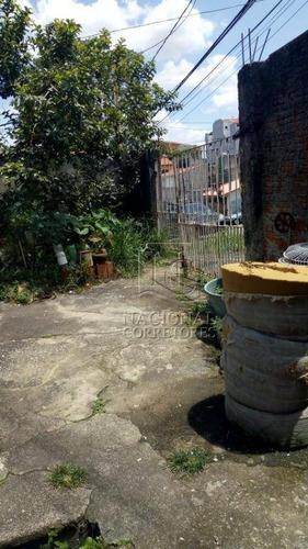Terreno À Venda, 400 M² Por R$ 450.000 - Jardim Santo Alberto - Santo André/sp - Te0979