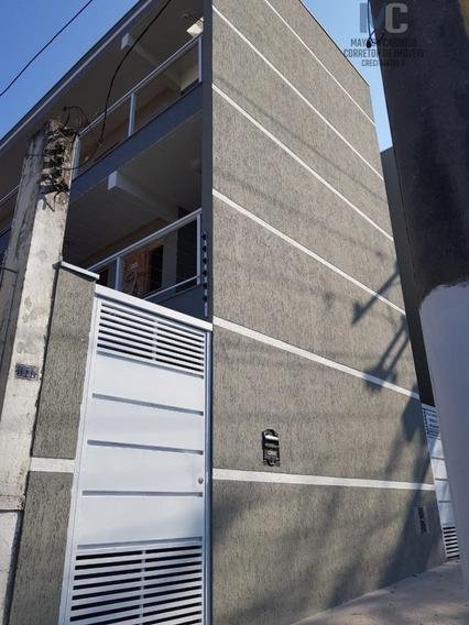 Apartamento A Venda No Bairro Vila Prudente Em São Paulo - - 1225-1