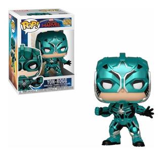 Funko Pop Yon-rogg 429 Capitan Marvel Figura Original Edu
