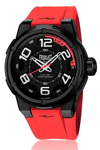 Relógio Pulso Everlast Torque E691 Caixa Abs E Pulseira
