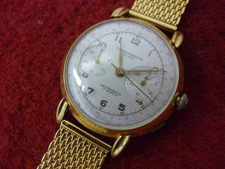 Relógio De Pulso Masculino, Clássico Cronômetro Landeron 48