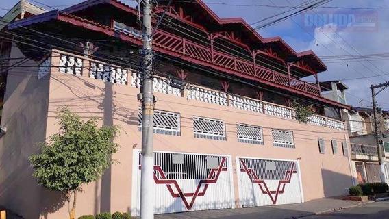 Sobrado Com 3 Dormitórios (1 Suite) À Venda, 399 M² - Jardim Monte Azul. - So0250