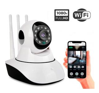 Cámara De Seguridad Ip Wifi Full Hd 1080 Movimiento Icsee