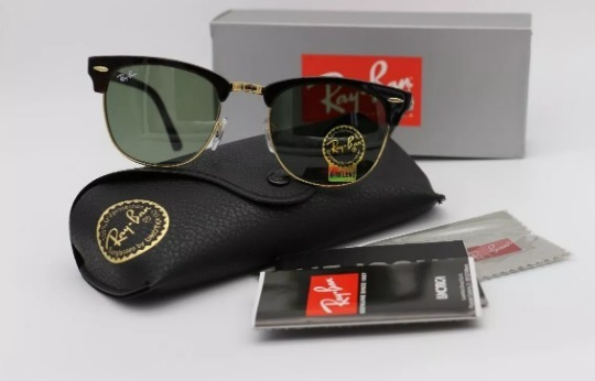 Oculos De Sol Clubmaster Classic Rb3016 Ray Ban Unissex