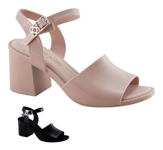 Sandália Petite Jolie Ella Feminina Pj3714 Fashion