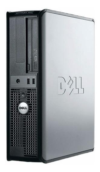 Cpu Dell 320 Dual Core + Memória + Wifi Ótimo Desempenho
