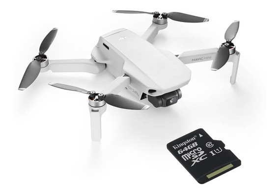 Drone Dji Mavic Mini + Microsd Kingston 64gb