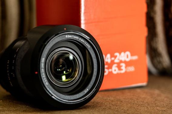 Lente Sony Fe 24-240mm F/3.5-6.3 Oss - Sel24240