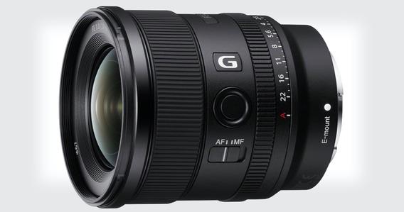 Lente Sony Fe 20mm 1.8 G Full Frame