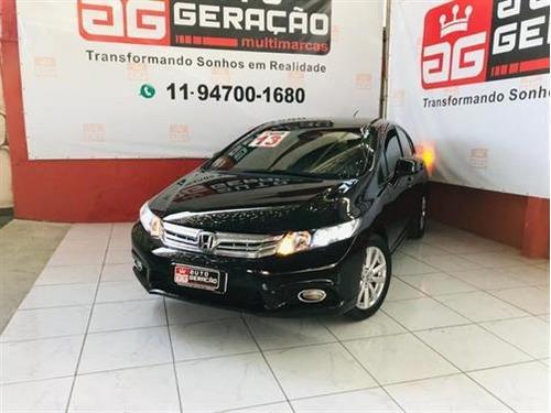 Imagem 1 de 12 de Honda Civic New  Lxs 1.8 16v I-vtec (aut) (flex) Flex Autom