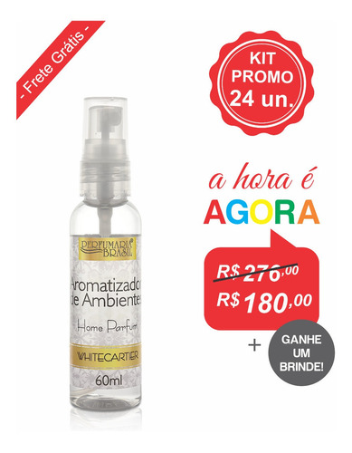 Kit Aromatizador Premium 60 Ml (24un.)