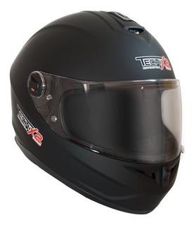 Casco Cerrado Ff966a Tech-x2 Negro Mate Rider One