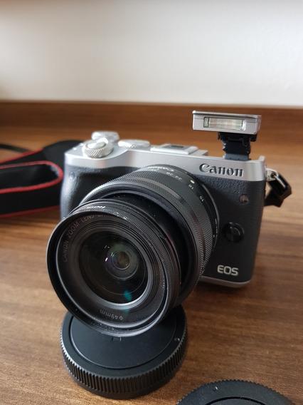 Canon Eos M6 Mirrorlesss M6 Mirrorless