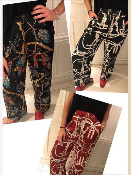 Pantalones De Seda Fría