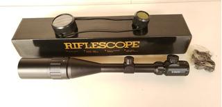 Luneta Riflescope 6x24x50 Completa Paralax Original