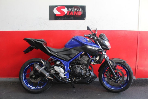 Imagem 1 de 11 de Yamaha Mt03 Mt 03 Mt-03 Abs 2020 Azul
