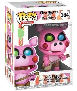 Funko Pop Five Nights At Freddys Pig Patch 364 Orig Scarlet
