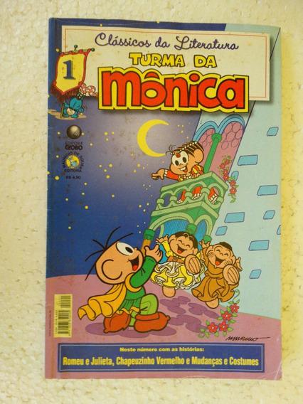Clássicos Da Literatura Turma Da Mônica Nº 1! Globo Out 2005