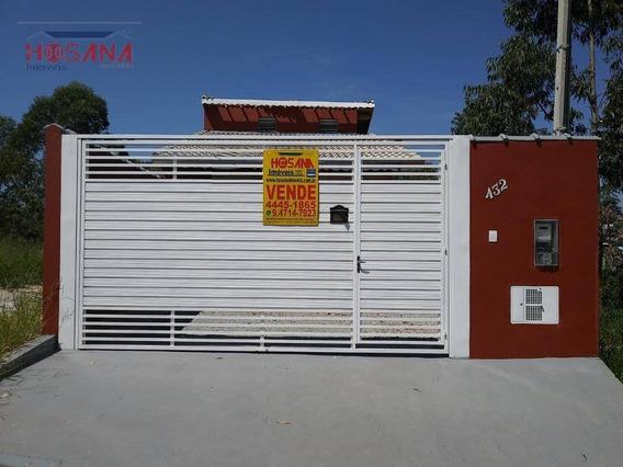 Casa Com 2 Dormitórios À Venda, 65 M² Por R$ 265.000 - Portal Da Estação - Franco Da Rocha/sp - Ca0600