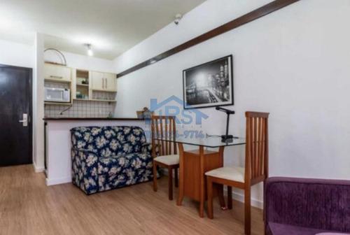 Flat Com 1 Dormitório Para Alugar, 49 M² Por R$ 2.700,00/mês - Alphaville Industrial - Barueri/sp - Fl0046