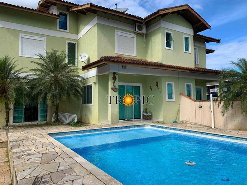 Imagem 1 de 28 de Sobrado Com 4 Dormitórios À Venda, 180 M² Por R$ 750.000,00 - Morada Da Praia - Bertioga/sp - So0023