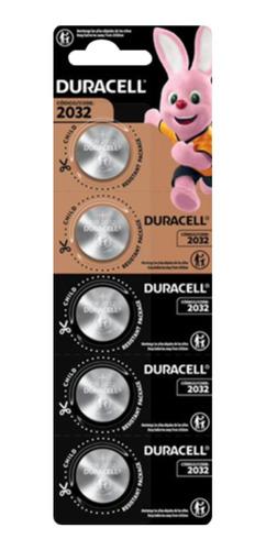 Imagen 1 de 1 de Pila Botón Duracell Cr2032 Tira X 5 Unidades