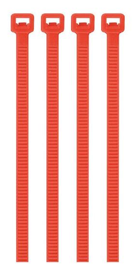 Cincho Rojo 50 Lb 4.5 Mm X 30 Cm 50 Pz Volteck 41021