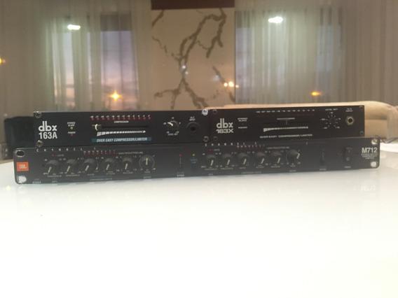 Compressores De Audio Dbx 163a E 163x