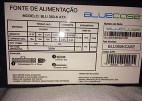 Fonte Para Pc 350w Blue Case