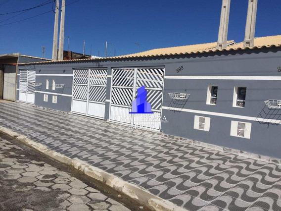 Casa Com 2 Dorms, Itaguaí, Mongaguá - R$ 180 Mil, Cod: 448 - V448