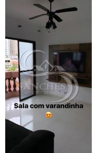 Apartamento 1 Dormitório Na Praia Grande - Vila Caiçara