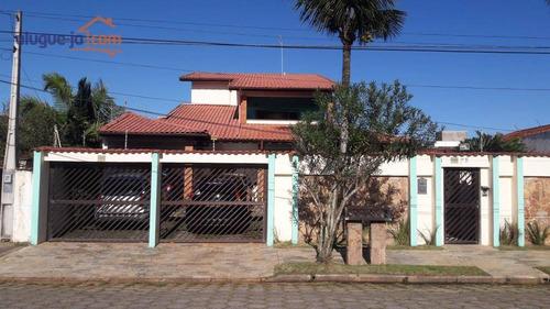 Casa Com 8 Dormitórios À Venda, 450 M² - Estância Balneária Maria Helena Novaes - Peruíbe/sp - Ca3338