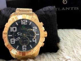 Relógio Masculino Atlantis Funcional Origininal Frete Gratis