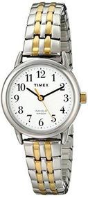 Vestido Timex T2p298 Easy Reader De Mujer T De Dos Tonos I
