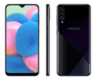 Smartphone Samsung Galaxy A30s 64gb Preto 4g-4gb Ram