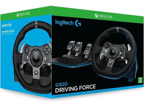 Volante Gamer Logitech G920 Para Xbox One / Pc
