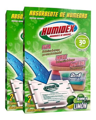 Humidex Pack Cojines Absorbentes D - Unidad a $5975