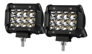 Faro Luces Led Chips Osram 4 Pulgada 36w Tri-row Ip67 4x4