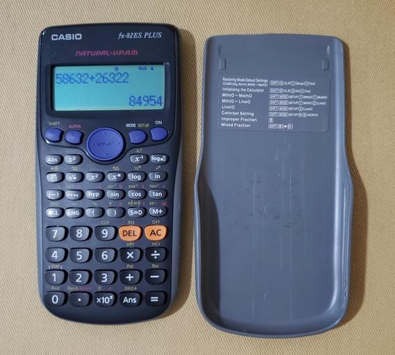 Calculadora Científica Casio 252 Funções - Fx-82es Plus