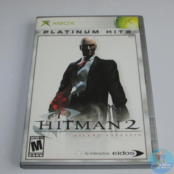 Hitman 2 Xbox Classico Original Americano Completo Confira!
