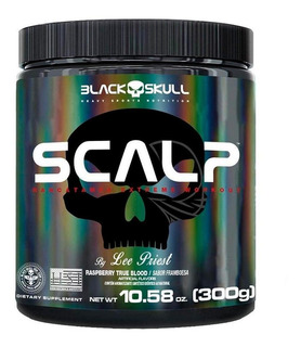 Scalp Pre Treino Xtreme (300g) - Black Skull