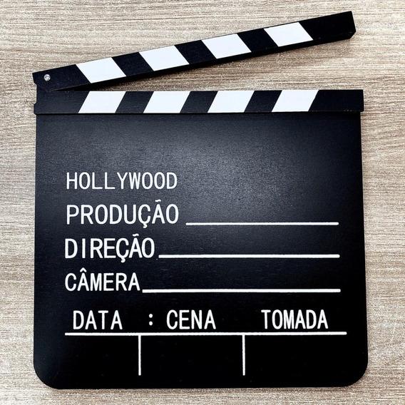 Claquete Filmes Cinema Canal Youtube Tv Decoração 30x29
