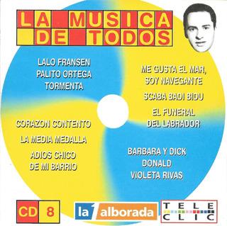 La Musica De Todos Cd 8 - Grandes Exitos Bailables De Los 70