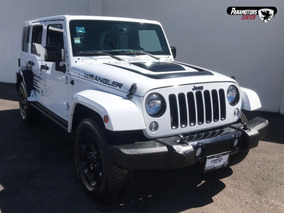 Jeep Wrangler Unlimited Altitude 4x4 Blanco 2015