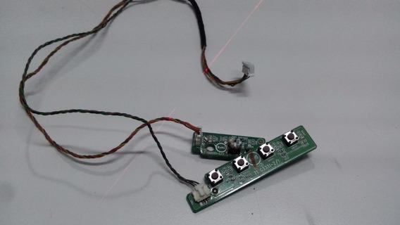 Placa Funções + Sensor Original Monitor Philips 200vw9fbj/78