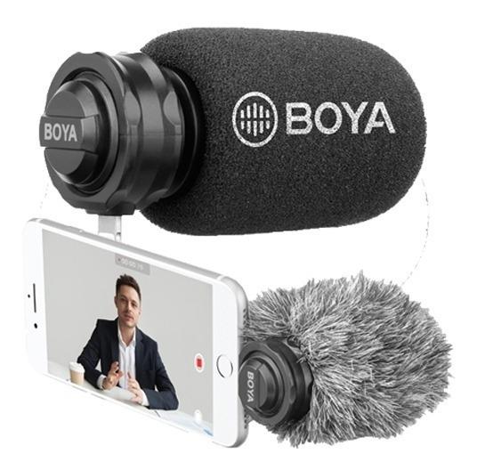 Microfone Boya By-dm200 Para iPhone X, 8/8 Plus Etc.
