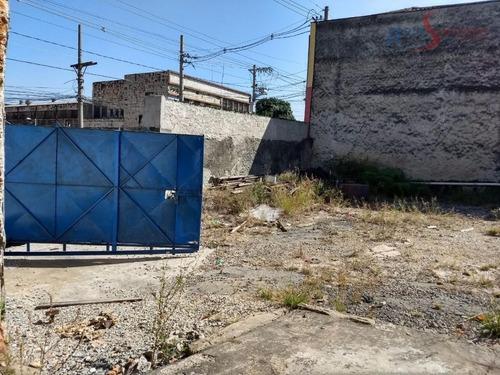 Terreno À Venda, 1800 M² Por R$ 4.000.000,00 - Mooca - São Paulo/sp - Te0200