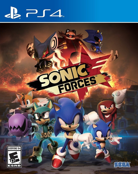 Sonic Forces - Ps4 - Pronta Entrega! Nacional!