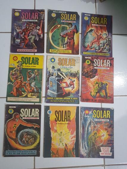 Solar O Homem Átomo Do 1 Ao 20 O Herói Ebal